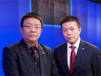 CRIC联席董事会主席周忻与曹国伟合影