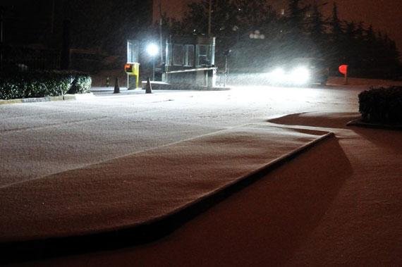 昨夜西风凋碧树北京第二场雪摄影欣赏