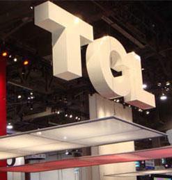 TCL品牌首次亮相CES主打互联网电视