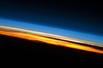 五彩地球大气层