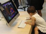 小粉丝试用苹果电脑