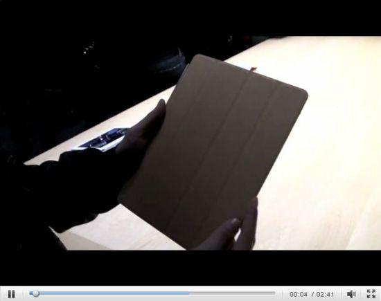苹果发布会现场试用iPad 2