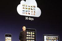 iCloud可以保存30天内的照片