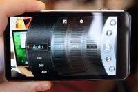 触摸液晶屏调节相机参数