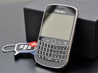 高分触控屏幕 黑莓最新旗舰9900评测