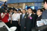 领导参观第四届中国软交会