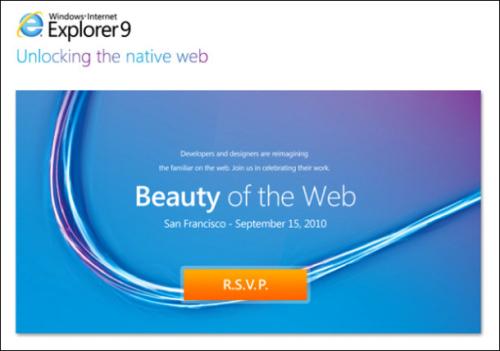科技时代_微软宣布9月15日发布IE9测试版
