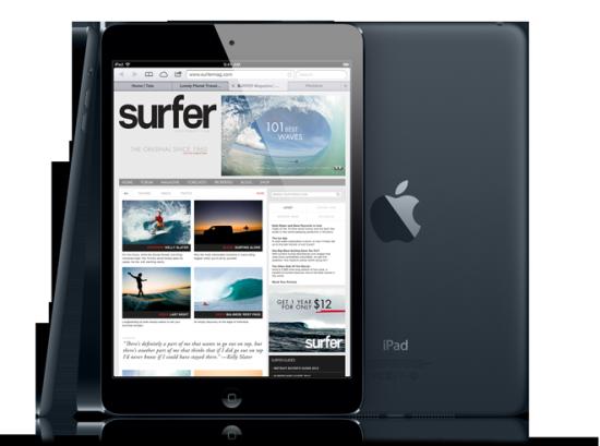 第一代iPad mini并未使用Retina显示屏
