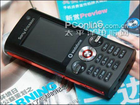 索爱手机K630正面-索尼爱立信新机K63上市价1399元