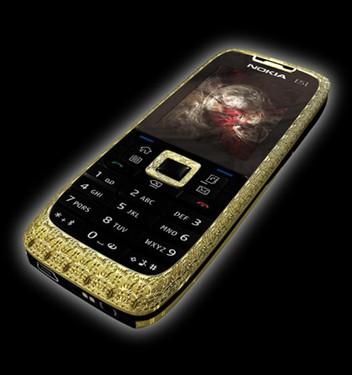 珠光宝气诺基亚E51两款奢侈手机登场