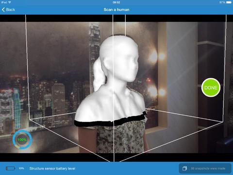itSeez3D可帮助用户建立3D模型