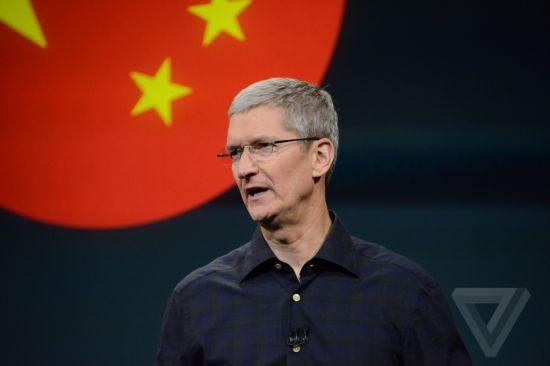 苹果CEO蒂姆库克