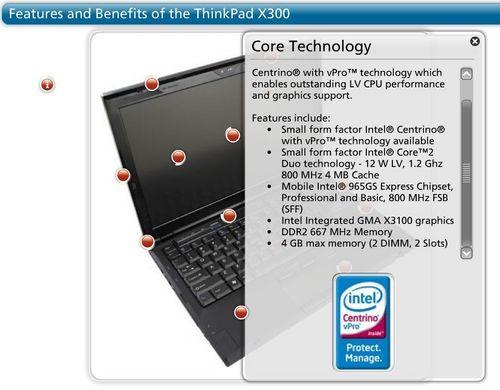 ThinkPadX300正式接受预订售2750美元