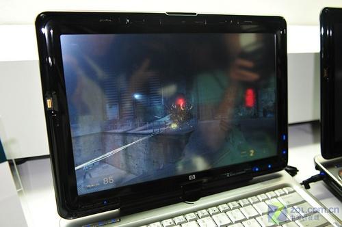 精致12英寸惠普tx2000z亮相电脑展
