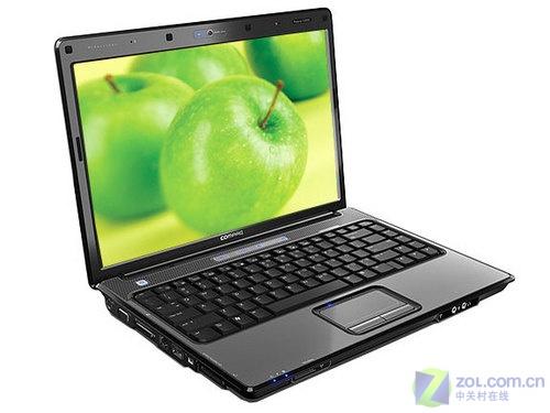 惠普45纳米14宽屏160G硬盘本6600元