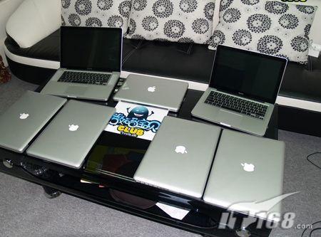 精美时尚 苹果MB466首发售价仅9900_笔记本
