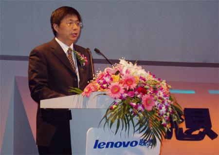 科技时代_联想移动06财年战略发布会:总经理刘志军致辞