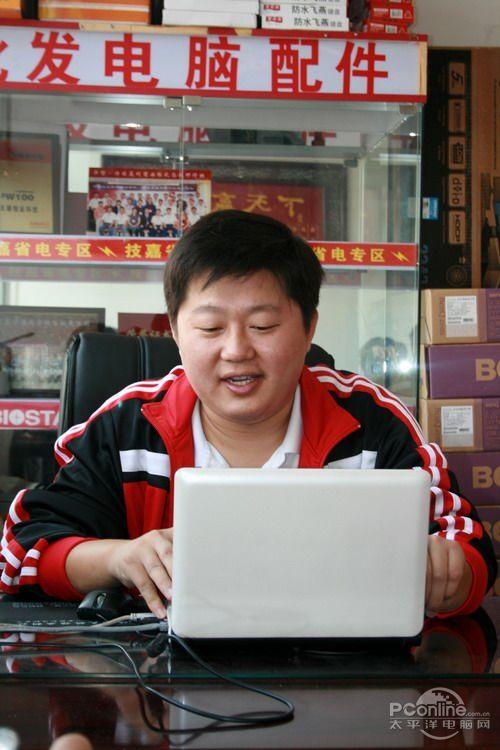 自信的力量!访天骄恒业总经理李洪领_滚动新闻