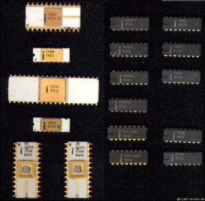 intel推出微处理器8086
