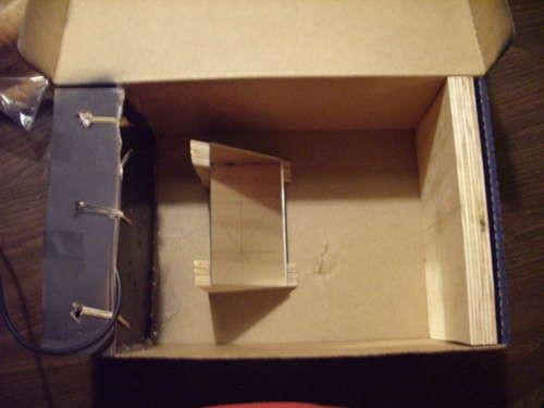 ipod专用网友用鞋盒diy投影机[视频]