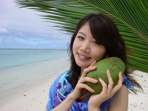 阳光美女沙滩宾得W30官方样张欣赏