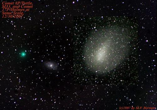 图文:07年12月30日印地安那州出现的塔特尔彗星