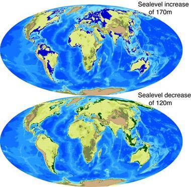 研究称8000万年前海平面比现在高出170米