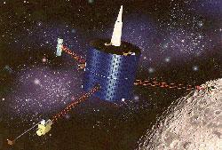 十大撞月事件:流星体陨落月球