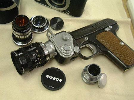 别被他们吓到14款看起来像枪的相机欣赏