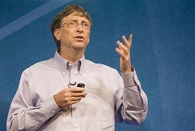 盖茨向开发人员告别演讲微软机器人恶搞鲍尔默