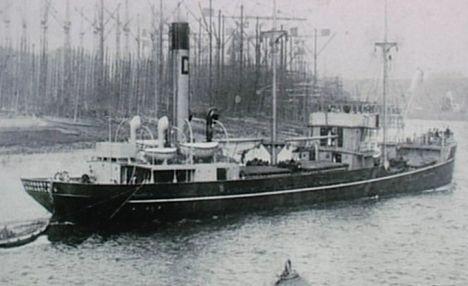 泰晤士河发现伦敦号重巡洋舰等7艘沉船(图)