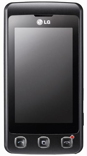 GSM全触摸屏精致手机LG新品KP500评测