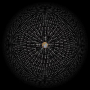 摄影镜头揭示人类巨大消耗:万余飞机轨迹(图)