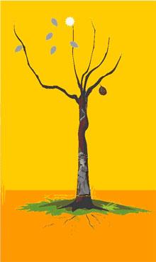 14、解释:树枝多又见虫子无主根者则要注意感情专一,以免聪明过头最终难嫁贤夫