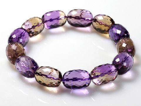 现在很多紫黄晶是人造的
