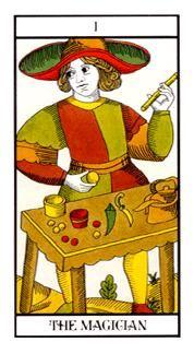 古塔罗魔术师(图片来源与轻博客)