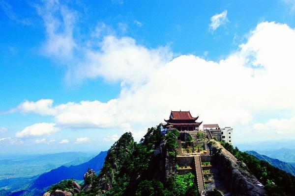 九华山:天台风光