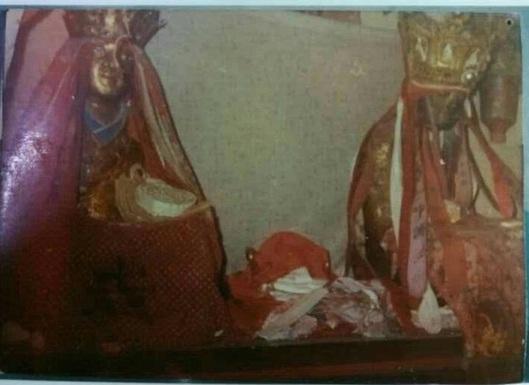 六全祖师金身被盗前照片曝光