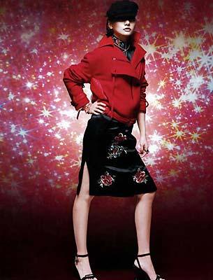 时尚:星座眩美圣诞装(组图)