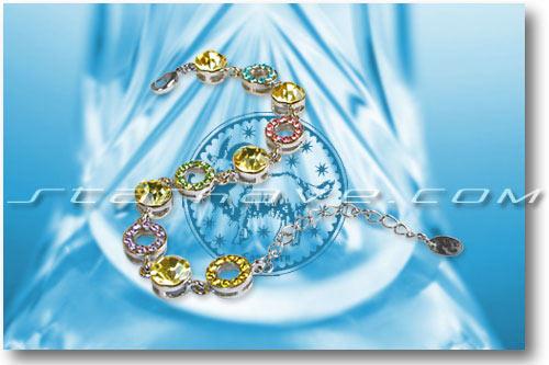 时尚:十二星座清雅盈动手链(组图)