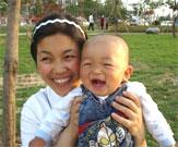 张锦东和妈妈