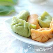 龚译:健康彩色饺子