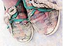 给四川深山里的孩子送双鞋
