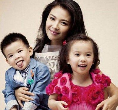 刘涛和儿女