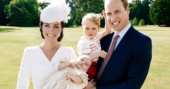威廉王子最新全家福
