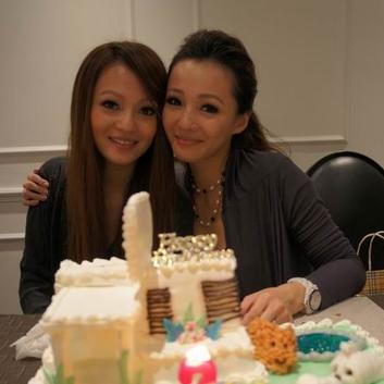 张韶涵和妹妹