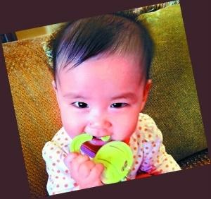 林熙蕾女儿杨若妤很讨人喜欢。