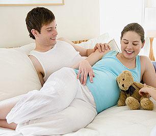 怀孕期间别贪房事(图)
