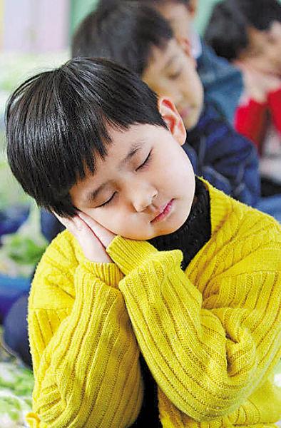 家长要多观察孩子的睡眠状态