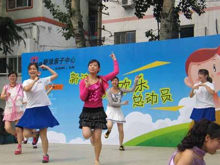 图文:姐姐们的辣舞